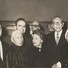 Marta Feuchtwanger and others at a Korngold party, ca. 1970-1980