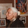 Marta Feuchtwanger at the USC Wilhelm Exhibition of Children's Paintings, 1982