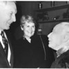 Marta Feuchtwanger with the President USC and his wife, 1981