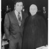 Marta Feuchtwanger and conductor Zubin Mehta, ca. 1970-1980