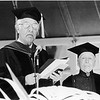 Marta Feuchtwanger receiving honorary degree from USC, 1980