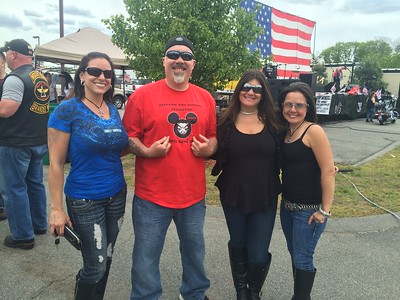 From left, Michelle Cincotti, Peter Dias, both of Billerica, Kim Bain of Melrose and Tami Dias of Billerica
