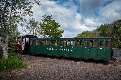 Welsh Highland railway carriage