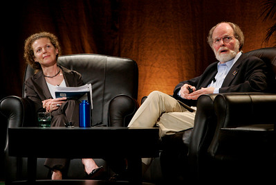 """An Urgent Need to Address Climate Change"": Host Cynthia Figge, Partner and Co-Founder, EKOS International, and guest James McCarthy, Professor of Oceanography, Harvard University, and a Leader of the Nobel Prize-winning Intergovernmental Panel  on Climate Change"