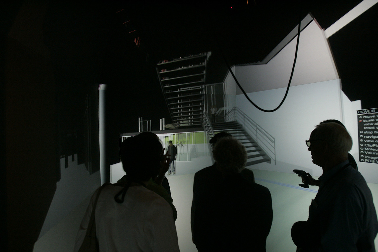"""Next-Generation Visualization and Networking Facilities, Calit2 (the """"FiRe Lab""""), UCSD"""