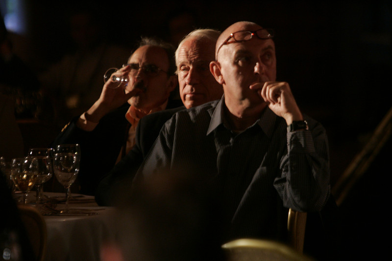(L-R) Bill Janeway, Warburg Pincus; Bill Budinger, The Rodel Foundations; and Steve Evans, BBC Worldwide