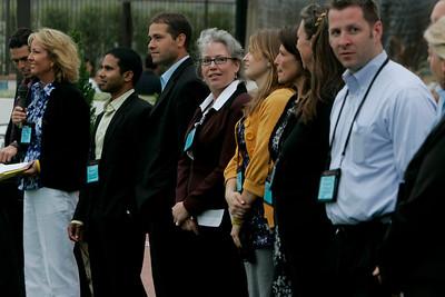 FiRe Staff and Interns: (L-R) Sharon Anderson-Morris, Debarshi Das, Matt Keller, Sally Anderson, Berit Anderson, Sam Leigh, Lynne Mercer, Brent Morris, Kelly Webb
