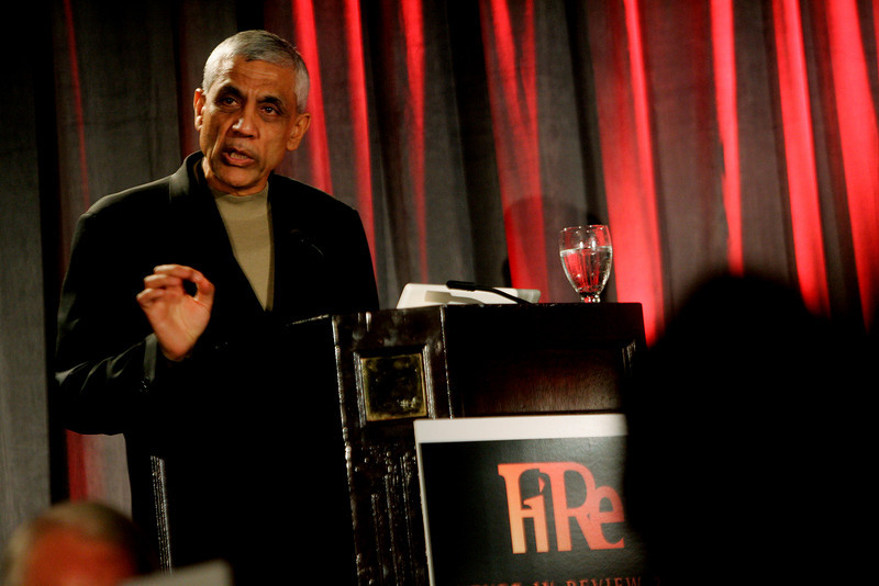 "Opening Night speaker Vinod Khosla, founder of Khosla Ventures, presents ""Identifying Tomorrow's Energy Sources"""
