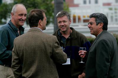 (L-R, from foreground): Kai de Altin Popiolek, Geoff Carss, Scott Gardner, and Bob Warshawer