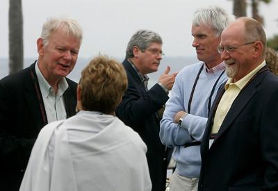 (L-R): Bruce Harned, Carol Jones, Doug Smith, Bruce Conway, and Dennis Knight Sr.