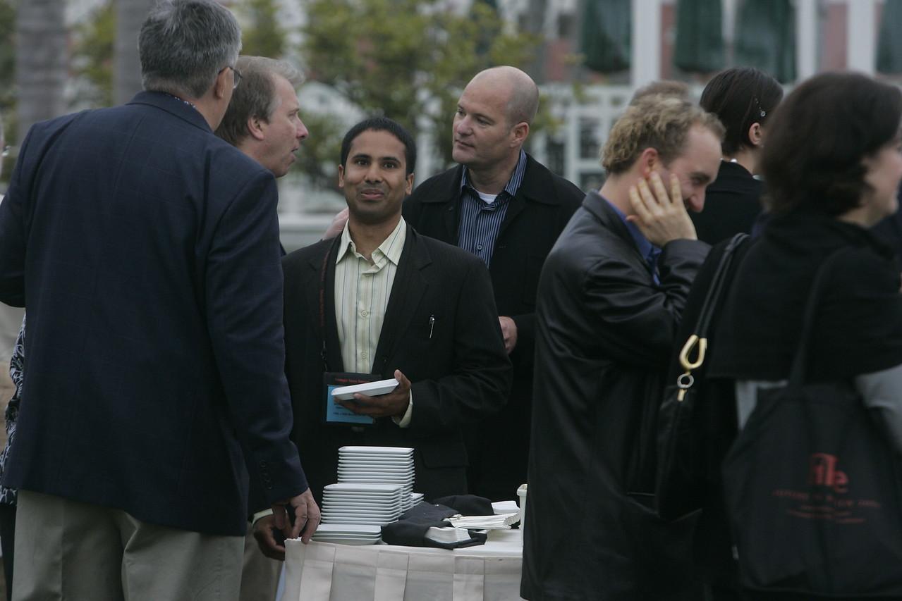 (L-R) Bob Anderson, Steve Broback, Debarshi Das, Dave Grannan, Greg Ellis, and Paula Steakley