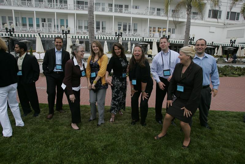 Starting off on the right foot: SNS/FiRe interns and staff (L-R): Sharon Anderson-Morris, Debarshi Das, Matt Keller, Sally Anderson, Berit Anderson, Sam Leigh, Lynne Mercer, Brent Morris, Kelly Webb, and Gustav Toppenberg