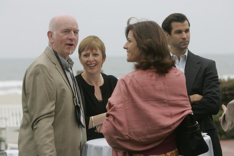 (L-R) Mr. and Mrs. Howard Wright, Chenoa Farnsworth, and Stan DeLaney