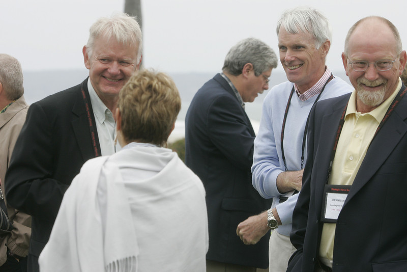 (L-R) Bruce Harned, Carol Jones, Doug Smith, Bruce Conway, and Dennis Knight