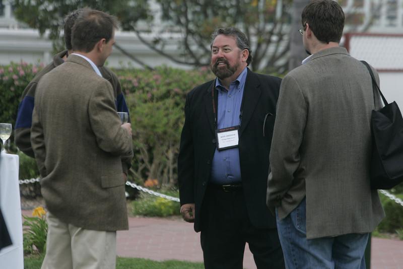 (L-R) Kai de Altin Popiolek, Mark Anderson, and Tom Krazit