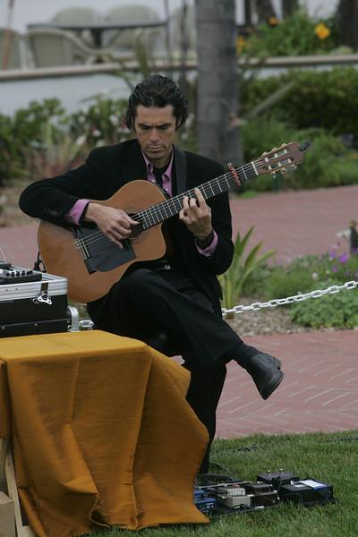 Flamenco guitarist David de Alva has played for every FiRe reception since 2003