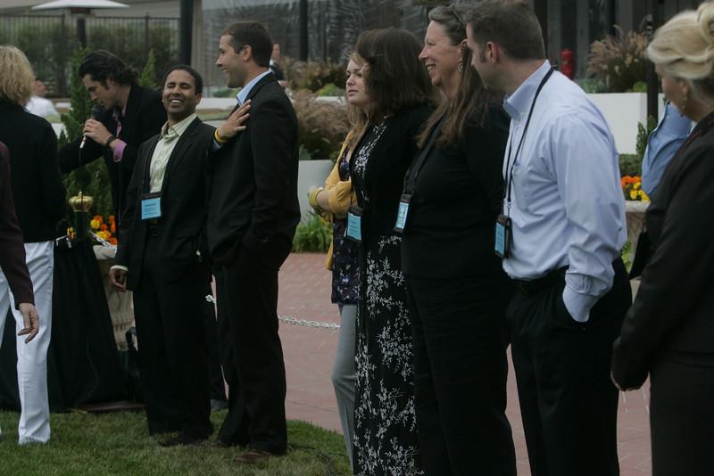 SNS/FiRe interns and staff: (L-R) Debarshi Das, Matt Keller, Berit Anderson, Sam Leigh, Lynne Mercer, Brent Morris, and Kelly Webb