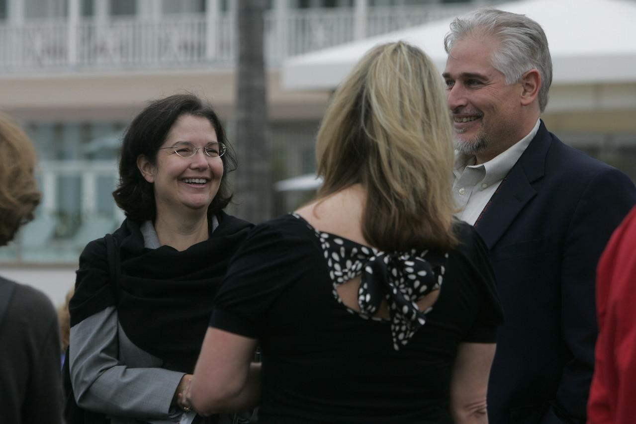 Paula (L) and David Steakley