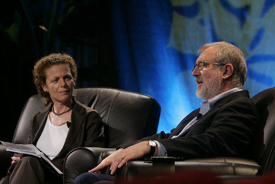 """""""China and the Changing Face of World CO2 Emissions"""": Host Cynthia Figge, Partner and Co-Founder, EKOS International, with guest Richard T. Carson, Professor and Former Chair, Department of Economics, UCSD"""