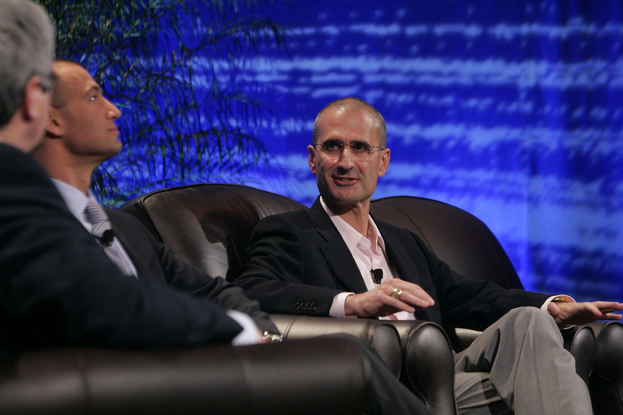 """""""Fixing Healthcare II: Using Technology to Empower the Consumer"""": (L-R) Doug Smith, Martin's Point Health Care; Roy Schoenberg, American Well Systems; and Peter Neupert, Health Solutions Group, Microsoft"""