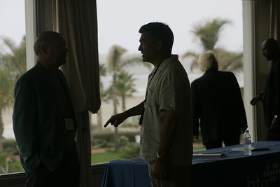 Geoff Carss (L), vice president of Sales and Marketing, Imaginatik; and Martin Tobias, past CEO, Imperium Renewables