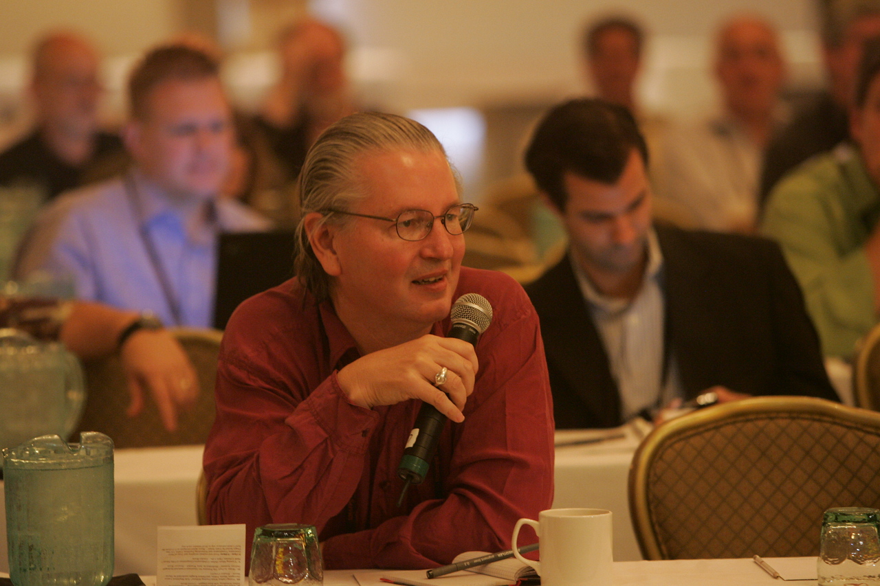 """Hydrogen"" Q&A: Science fiction author Bruce Sterling poses a question to Jerry Woodall"