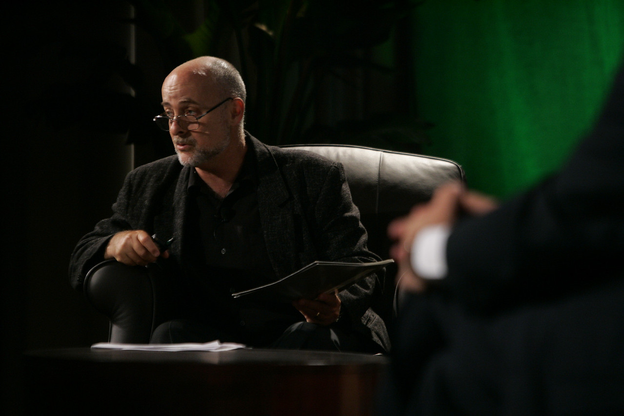 """""""CTO Design Challenge: New Ideas in Firefighting"""": Moderator and science fiction author David Brin"""