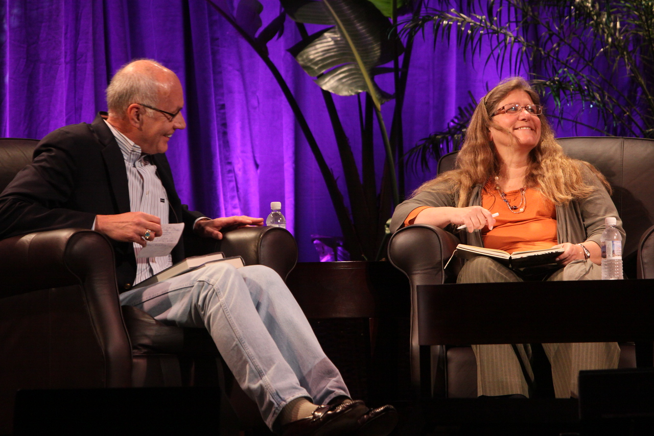 """Looking Further"": Host Glen Hiemstra, Founder and Owner, Futurist.com; and Brenda Cooper, Science Fiction Author and CIO, City of Kirkland, Washington"