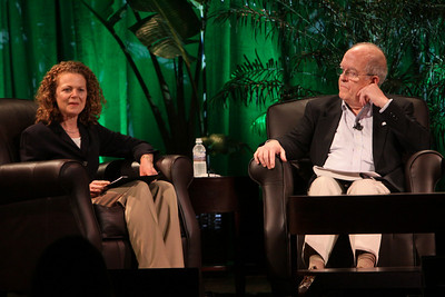 """""""Pollution Report on the World's Oceans"""": Host Cynthia Figge, Co-Founder, EKOS International and EkoHub; and Roger Payne, Founder and President, Ocean Alliance"""