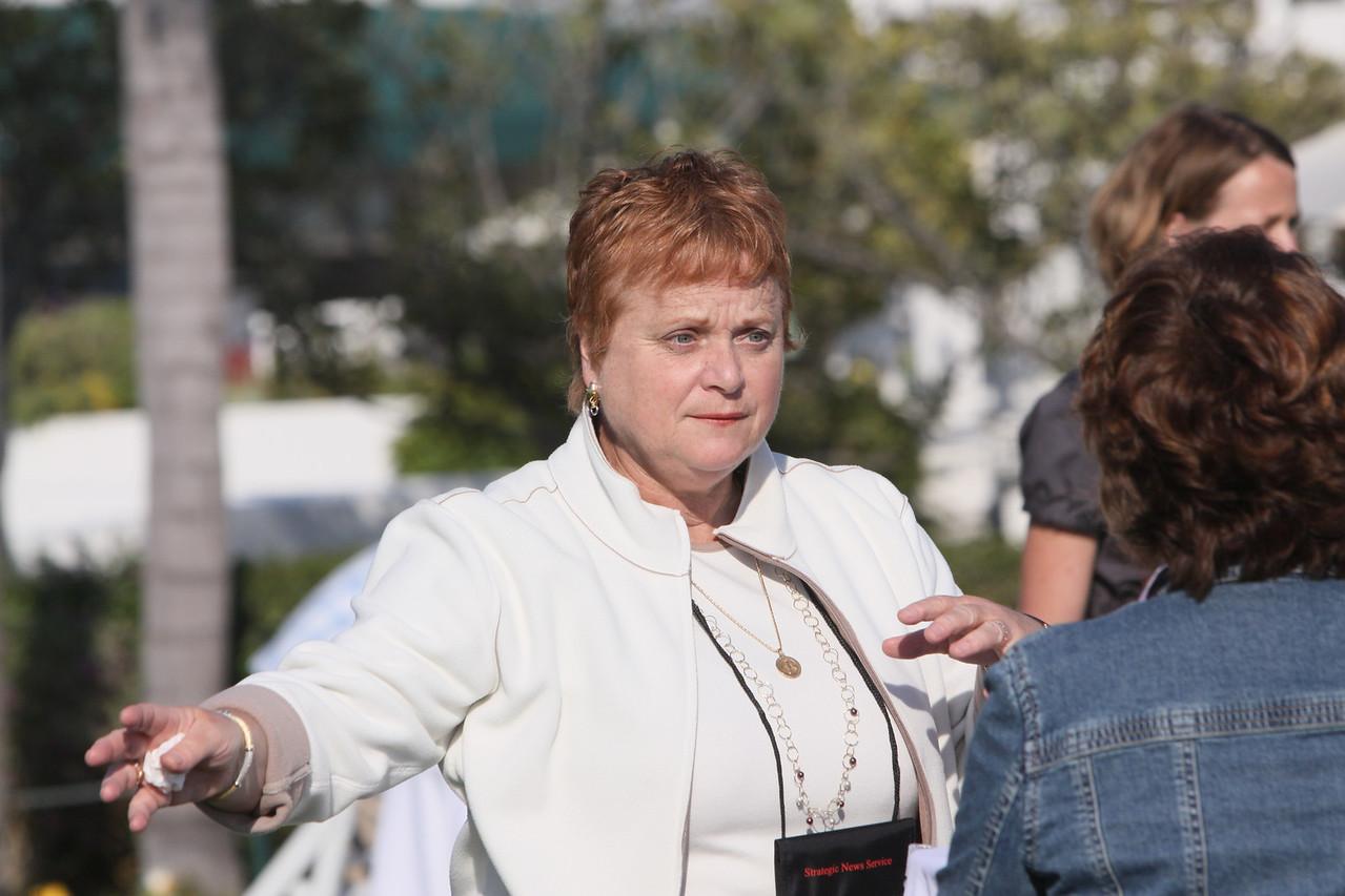 Paula Brock (L), CFO, Zoological Society of San Diego; and Nancy Bulger, Assistant Provost, Purdue University