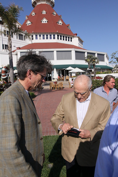 Russ Daggatt (L), Founding Partner, Denny Hill Capital; and Sidney Rittenberg, Founder, Rittenberg Associates