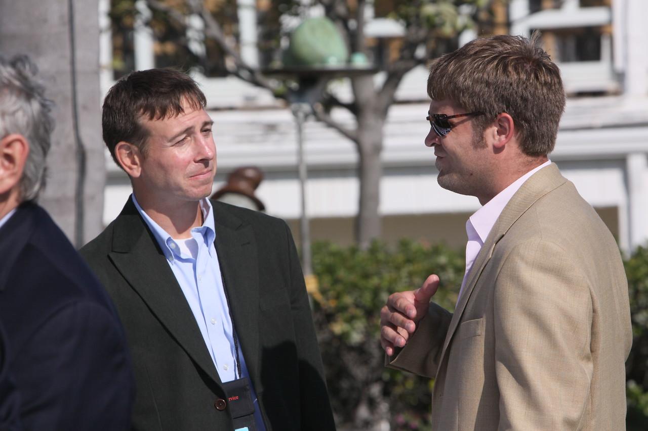 Adam Steinbrunner (L) and Will Counts, FiRe/Rodel Foundations interns, Thunderbird School of Global Management