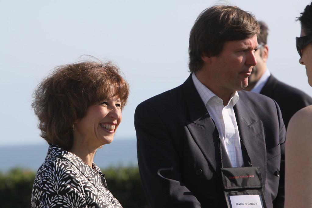 Lauren Pecorino and Marcus Gibson, Editor, Gibson Index Ltd
