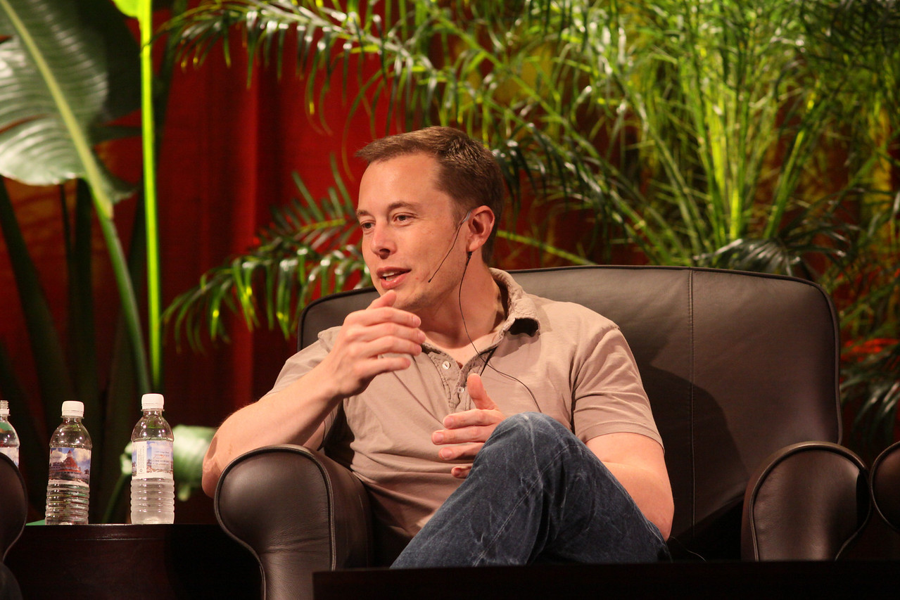 """""""Blast Off! From Launching Private Rockets to the Next Electric Cars"""": Elon Musk, CEO, SpaceX and Tesla Motors"""