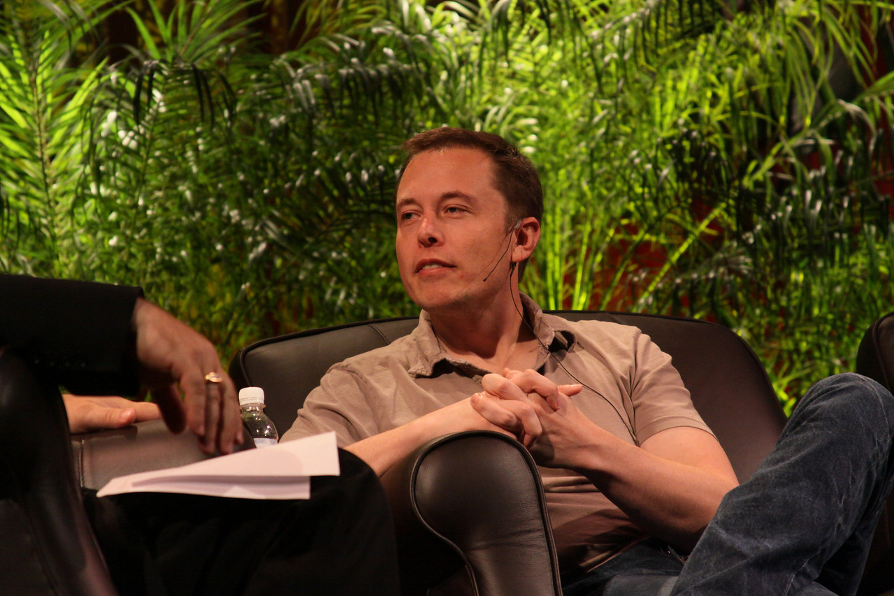 """Blast Off! From Launching Private Rockets to the Next Electric Cars"": Elon Musk, CEO, SpaceX and Tesla Motors"