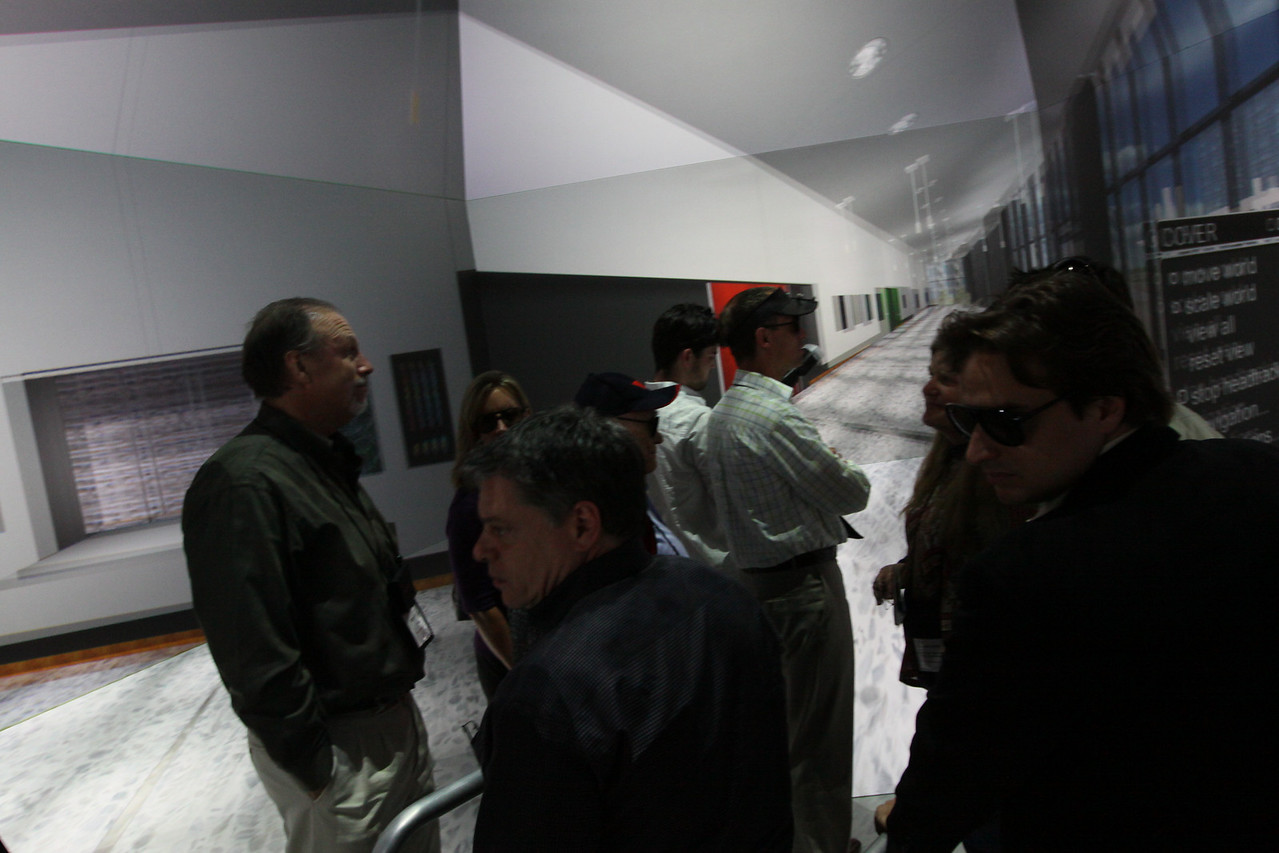 "FiRe tour of the Next-Generation Visualization and Networking Facilities (the ""FiRe Lab""), UCSD"