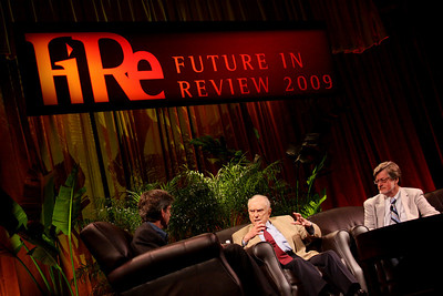 "The Mercantilists: ""What the West Doesn't 'Get' About China"" and ""Japan: The Real Asian Tech Tiger"": (L-R) Host Russ Daggatt, Founding Partner, Denny Hill Capital; Sidney Rittenberg, Founder, Rittenberg Associates; and Scott Foster, Sr. Analyst, HSBC Securities (Japan) and Principal, Misaki Research"