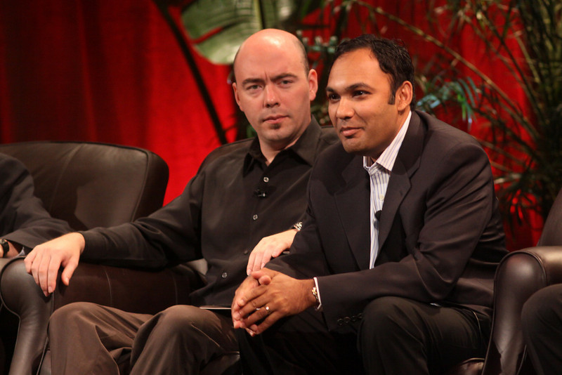 FiReStarters I: Ravi Chiruvolu (R), Board Director, Rearden Commerce; and Jim Sink, VP, Business Development, Avatar Reality
