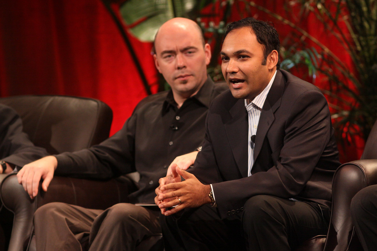 FiReStarters I: Ravi Chiruvolu (R), Board Director, Rearden Commerce; and Jim Sink, VP, Business Development, Avatar Reality