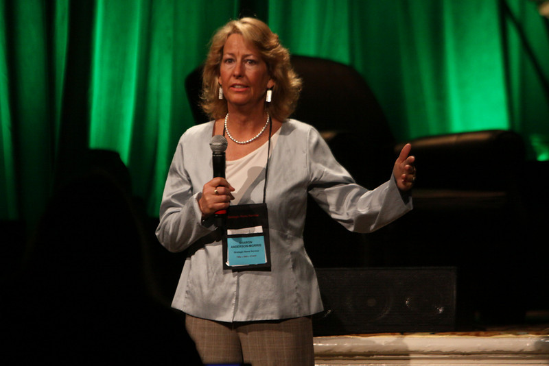 "Sharon Anderson-Morris describes the FiReStarters program and introduces the companies in the ""FiReStarters I"" session"