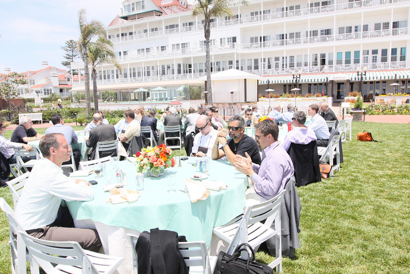 Buffet lunch on the Windsor Lawn