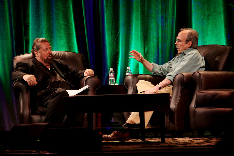 """""""In Search of Economic Redemption"""": Bill Janeway, Senior Advisor, Warburg Pincus; with host Mark Anderson, SNS CEO and FiRe Conference Chair"""