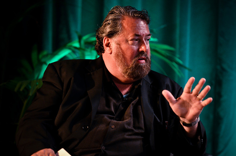 "Mark Anderson, in the Centerpiece Conversation with Leroy Hood, President, Institute for Systems Biology: ""How Systems Medicine and Emerging Technologies Will Transform Healthcare.""  At the Montage Resort in Laguna Beach, CA, 200 thought leaders - high technology engineers and executives, entrepreneurs, scientists, and media professionals - gathered for 3-1/2 days to participate in the Future in Review (FiRe) 2011 conference presented by the Strategic News Service and led by SNS founder and technology visionary Mark Anderson. Interviews, panel discussions, and informal conversations ranged from cybersecurity to CO2 and climate change, China and IP, healthcare policy, medical diagnostics, and global economics."