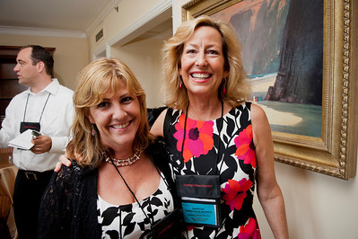 Cindy Klein (L), District Sales Manager, Terremark, and Sharon Anderson-Morris, SNS Programs Director.  At the Montage Resort in Laguna Beach, CA, 200 thought leaders - high technology engineers and executives, entrepreneurs, scientists, and media professionals - gathered for 3-1/2 days to participate in the Future in Review (FiRe) 2011 conference presented by the Strategic News Service and led by SNS founder and technology visionary Mark Anderson. Interviews, panel discussions, and informal conversations ranged from cybersecurity to CO2 and climate change, China and IP, healthcare policy, medical diagnostics, and global economics.