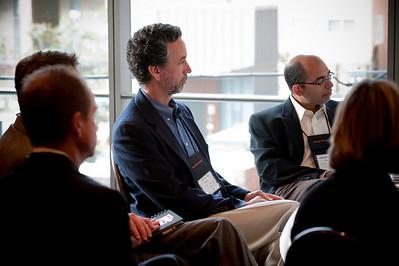 Dennis Adler (L), CTO, MetaJure Inc.; and Sailesh Chutani, Senior Director, Windows Mobile, Microsoft