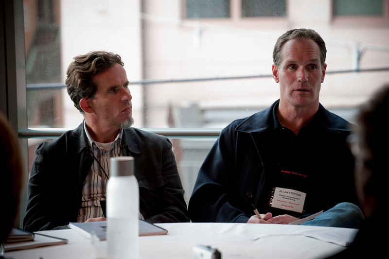 Allan Stephan (R), CEO, Stratos