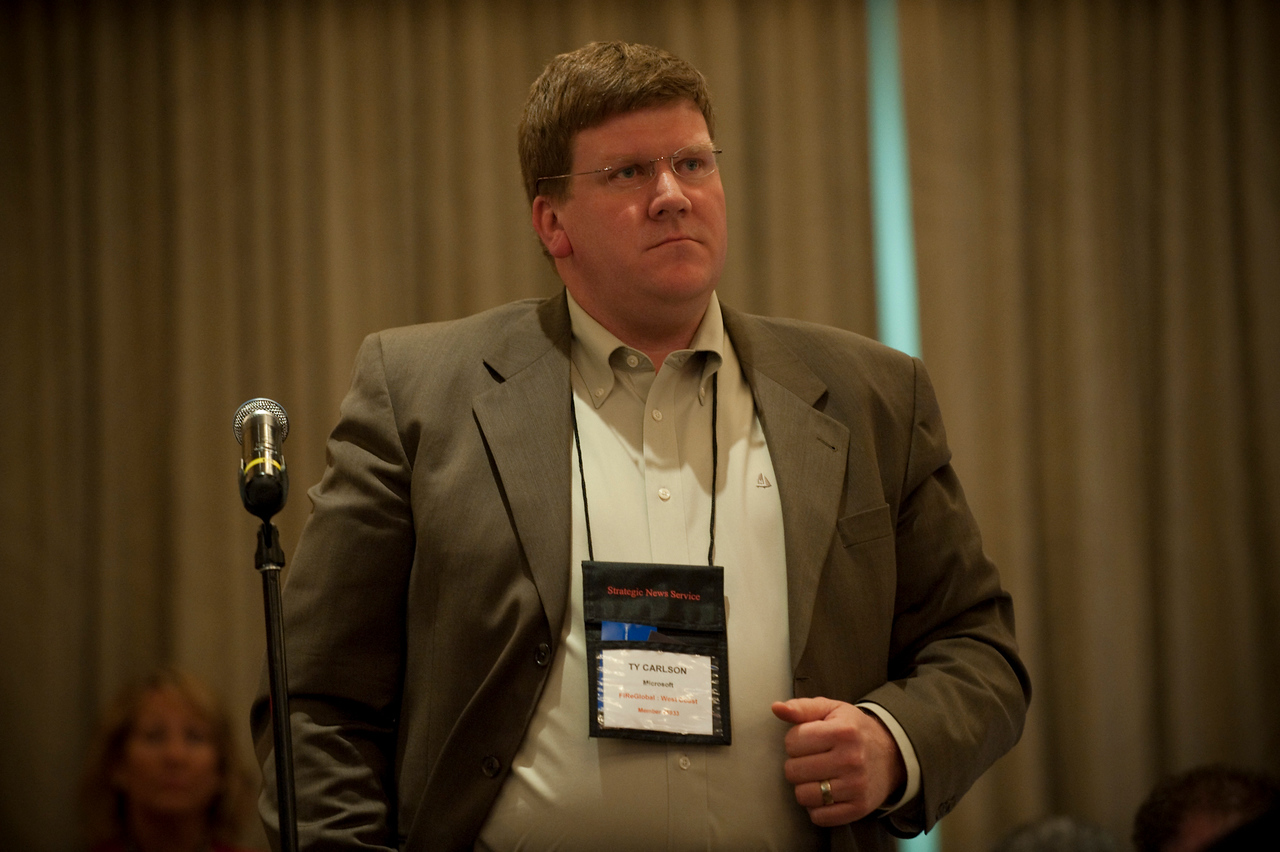 """""""Broadband Wireless: Solving Tomorrow's Problems"""": At Q&A: Ty Carlson, Architect, SiArch, Microsoft"""