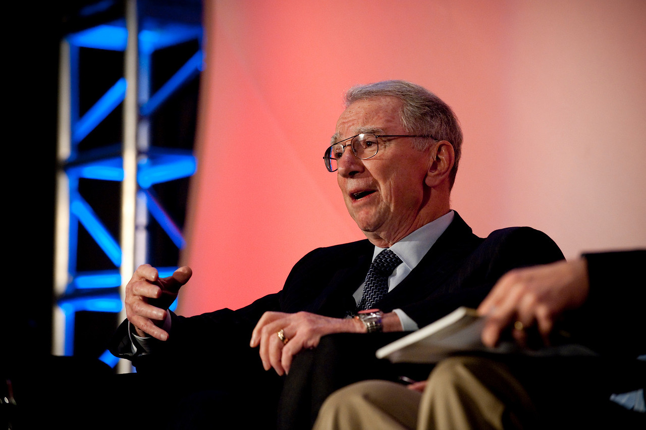 """""""Broadband Wireless: Solving Tomorrow's Problems"""": Irwin Jacobs, Co-Founder and Board Member, QUALCOMM"""