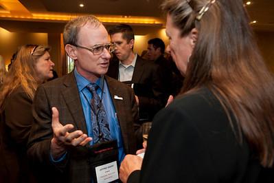 FiReStar Reception: Jeffrey Short, Pacific Science Director, Oceana; and Lynne Mercer, Comptroller, Strategic News Service