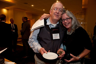 FiReStar Reception: Roger Payne, Founder and President, Ocean Alliance; and Sally Anderson, Editor-in-Chief, Strategic News Service